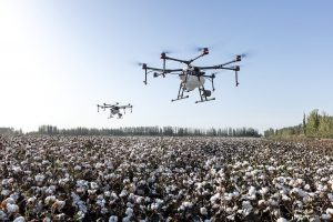 pionnier et leader du drone agricole
