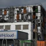 L'entreprise française OVH a perdu une partie de ses centres de données lors d'un incendie à Strasbourg Crédit : AFP