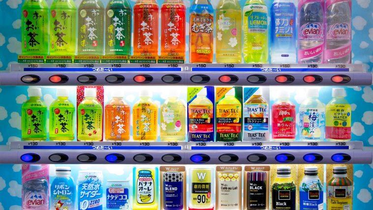 distributeurs de boissons froides