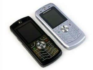 Motorola SLVRL7