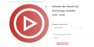 achatlikes.fr acheter heures vues youtube pas cher